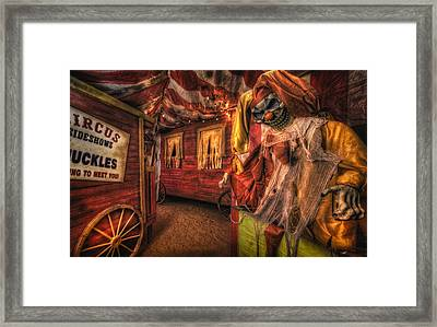 Haunted Circus Framed Print