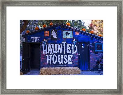 Haunted House Framed Print by Garry Gay