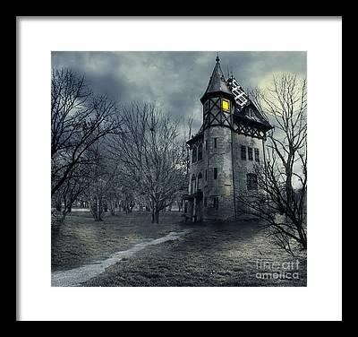 Old House Photographs Framed Prints