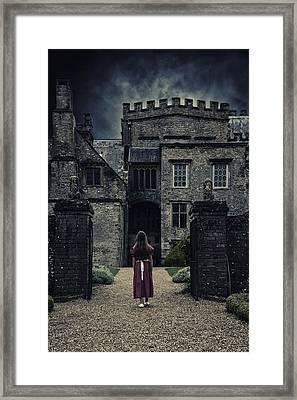Haunted House Framed Print by Joana Kruse