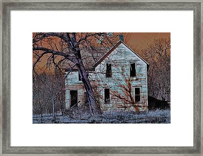 Haunted House  Framed Print by Jon Baldwin  Art