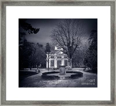 Haunted House Framed Print by Michal Bednarek