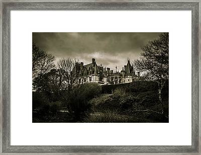 Haunted Framed Print by Jose Torres