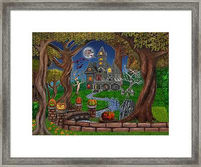 Haunted Mansion Framed Print by Glenn Holbrook