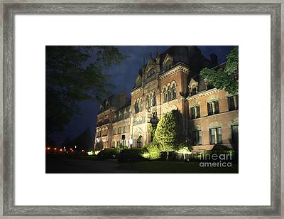 Haunted Mansion II Framed Print by John Telfer