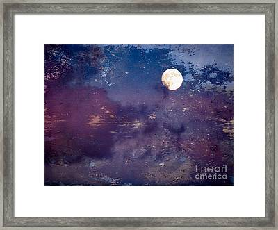 Haunted Moon Framed Print