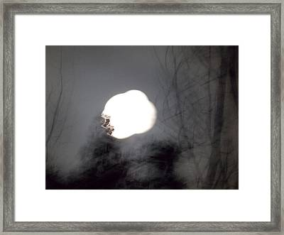 Haunted Night 2 Framed Print
