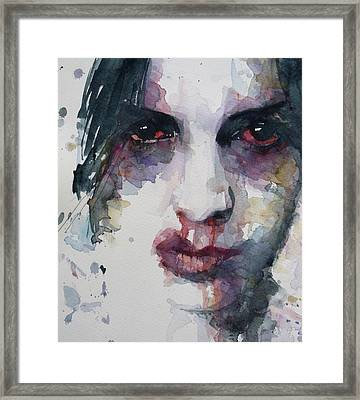 Haunted   Framed Print by Paul Lovering