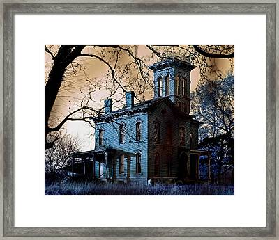 Haunted Sauer Castle Framed Print by Christopher McKenzie