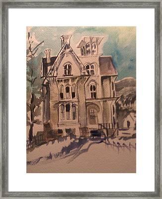 Haunted Framed Print by Susan Mumma