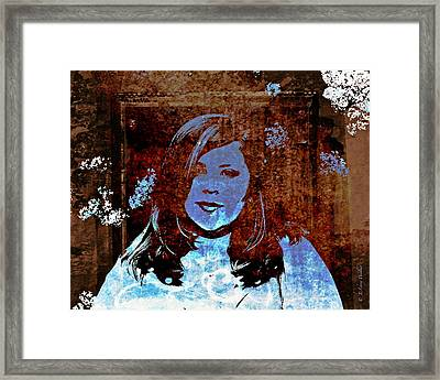 Haunting Beauty - Libbie Framed Print by J Larry Walker