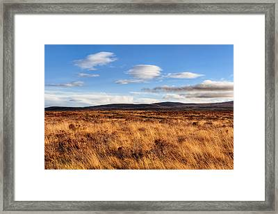 Haunting Beauty Of Culloden Moor Framed Print by Mark E Tisdale