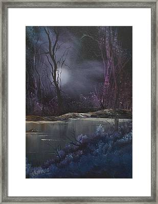 Haunting #  017 Framed Print by Frederick  Skidmore
