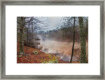 Haunting Ghostly Mystic Framed Print by Betsy Knapp
