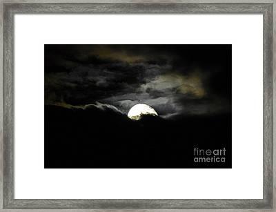Haunting Horizon Framed Print