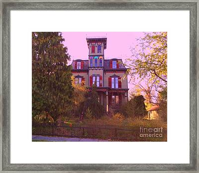Framed Print featuring the photograph Hauntingly Victorian 1 by Becky Lupe