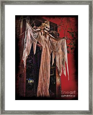 Hauntings Framed Print by Joan  Minchak