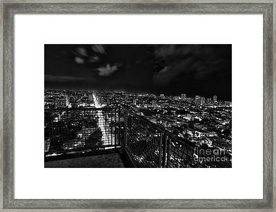 Havana At Night Framed Print