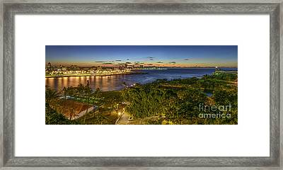 Havana Blues Framed Print