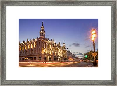 Havana, Cuba, The National Theater Framed Print by Buena Vista Images