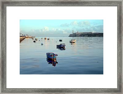 Havana Maritime 2 Framed Print