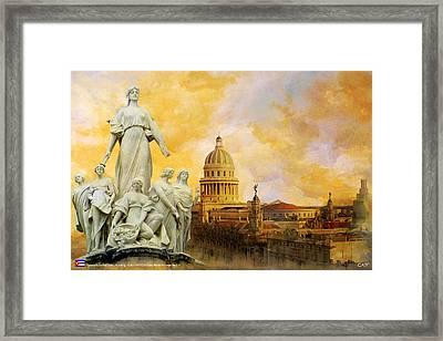 Havana National Capitol Building Framed Print