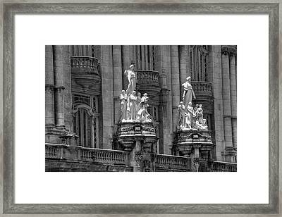 Havana National Theater  Havana, Cuba Framed Print