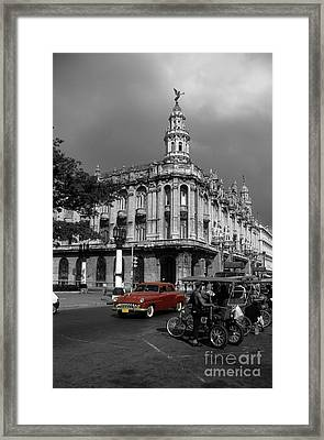Havana Red Framed Print