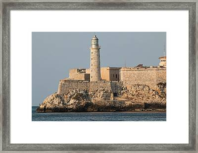 Havana Street Scenes And Malecon Framed Print