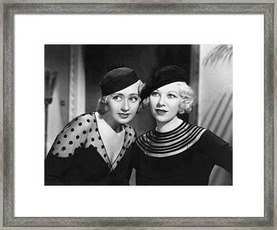 Havana Widows, From Left, Joan Framed Print