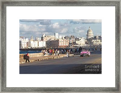 Havanna - Malecon Framed Print