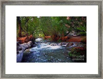 Havasu Creek Framed Print
