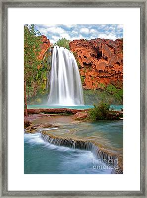 Havasu Falls Framed Print