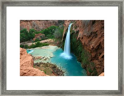 Havasu Falls Morning Framed Print