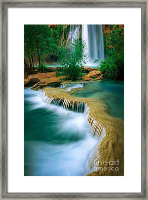Havasu Travertine Framed Print