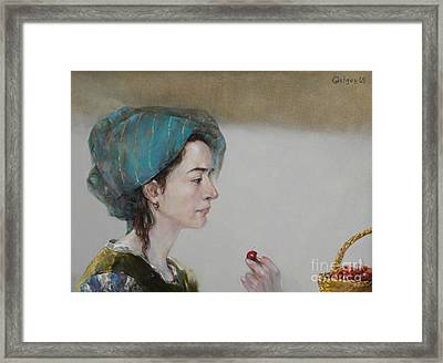 Have A Cherry Framed Print