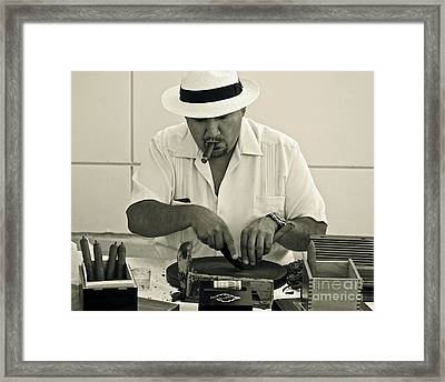 Have A Cigar Framed Print