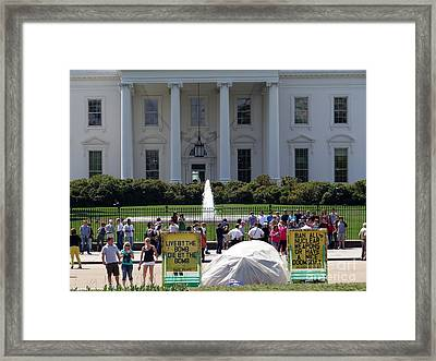 Framed Print featuring the photograph Have A Nice Doomsday by Ed Weidman