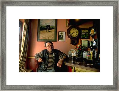 Have A Pint At A Local Pub Framed Print by Carl Purcell
