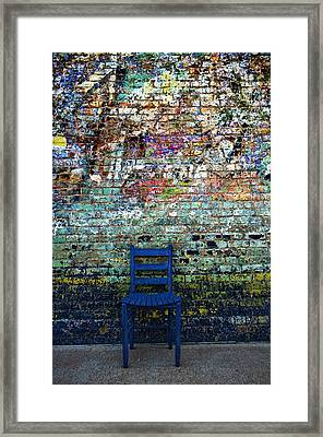 Have A Seat 2 Framed Print by Kelly Kitchens
