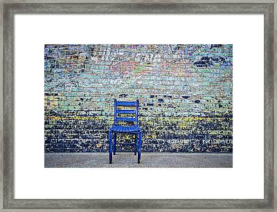 Have A Seat Framed Print by Kelly Kitchens