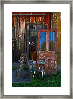 Have A Seat Framed Print by Michael Porchik