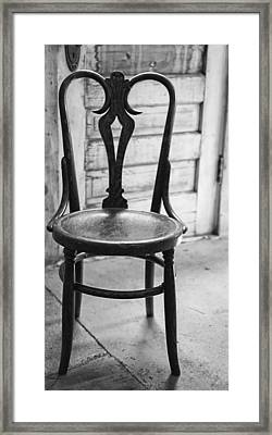 Have A Seat With History Framed Print by Thomas Young