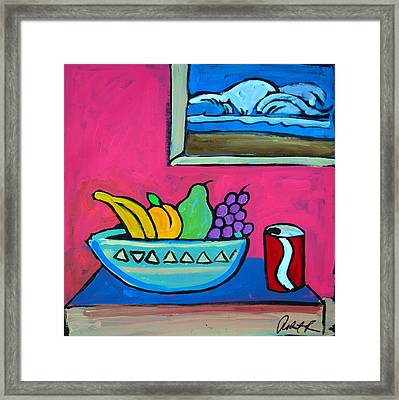 Have A Surf And Smile  Framed Print