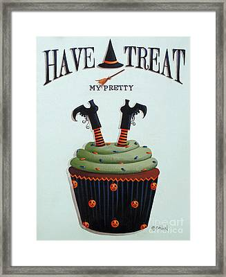 Have A Treat My Pretty Framed Print