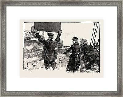 Have They Read The Message Do You Think Mr Framed Print by Overend, William Heysham (1851-1898), British