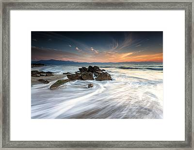 Have Tripod Will Travel Framed Print