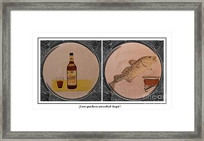 Have You Been Screeched In Yet Framed Print by Barbara Griffin