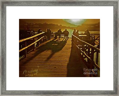 Have You Ever Been To Heaven . Framed Print by  Andrzej Goszcz