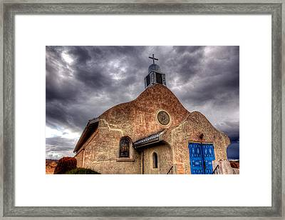 Haven From The Storm Framed Print